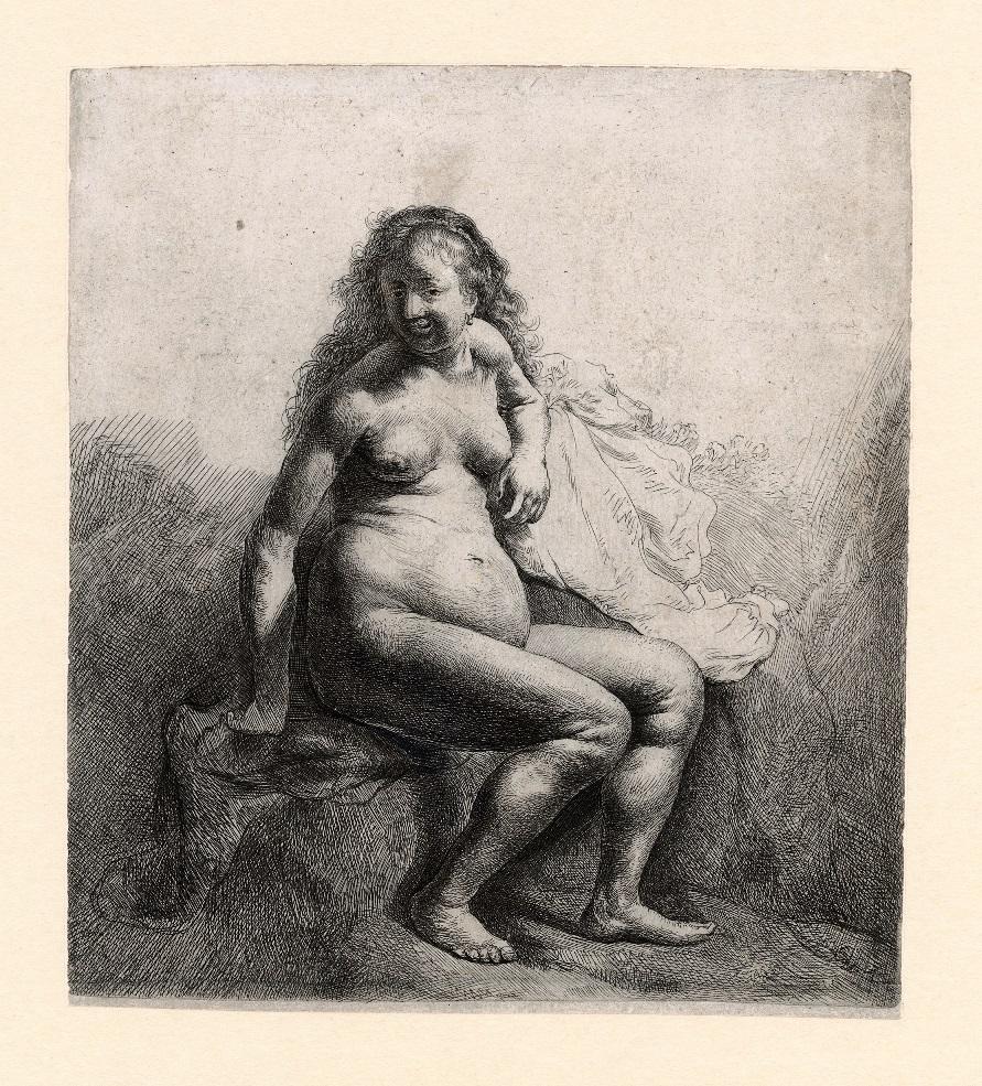 1b Rembrandt Woman Mound RHM