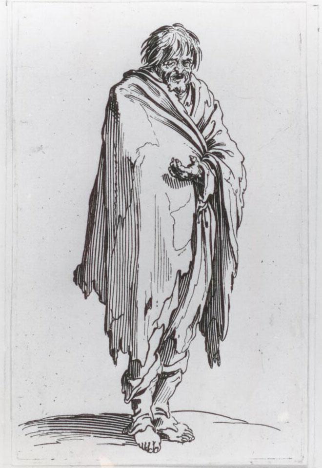 Callot Beggar Standing