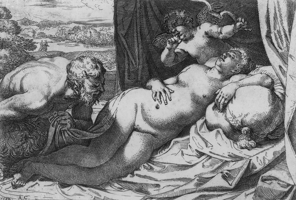 Caracci Jupiter Antiope
