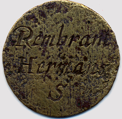 Coin Rembrandt House Museum Amsterdam