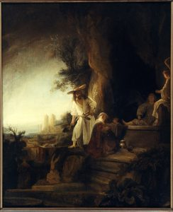 Ferdinand Bol Christ Appearing Mary Magdalene Rembrandt House Museum Amsterdam