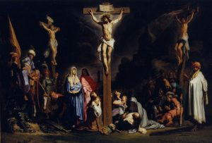 Lastman Crucifiction Rembrandt House Museum Amsterdam