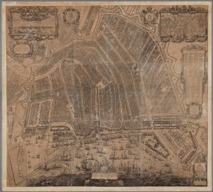 Balthasar Florisz., Map of Amsterdam, 1625