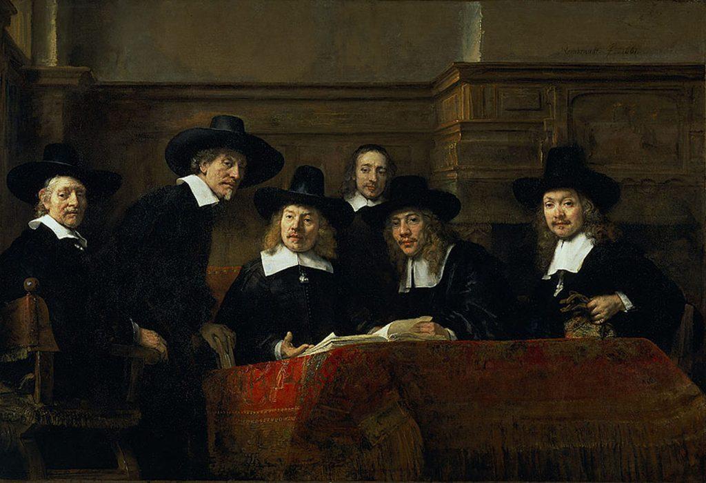 Rembrandt De Staalmeesters Rijksmuseum Amsterdam Rembrandthuis