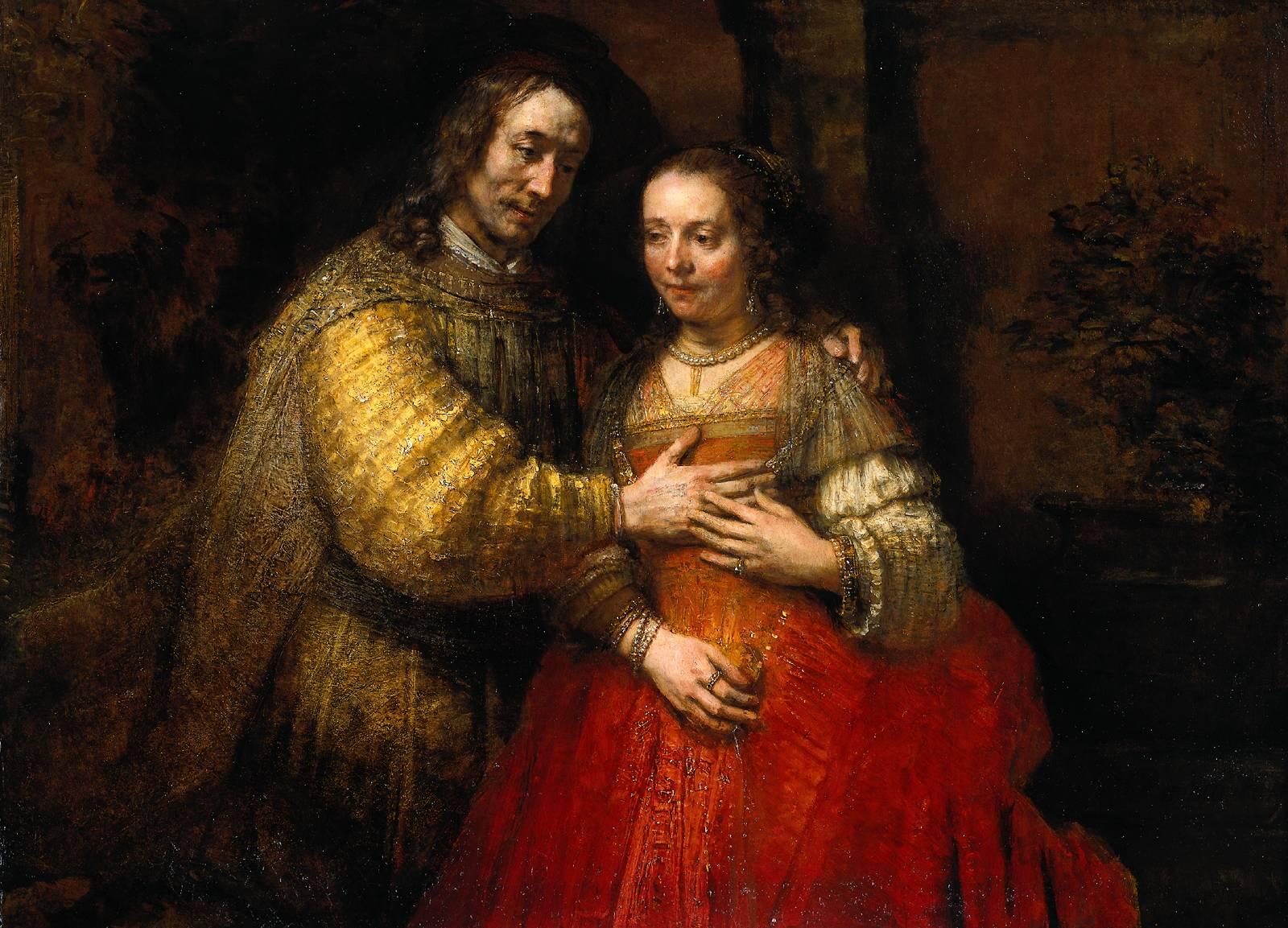 Rembrandt Het Joodse Bruidje Rijksmuseum Amsterdam Rembrandthuis