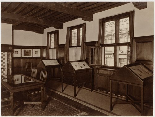 Rembrandt House interior around 1911