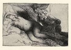 Rembrandt Jupiter Antiope