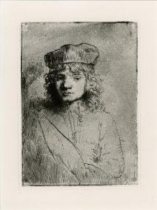 Rembrandt Portret van Titus Amsterdam Rijksprentenkabinet Rembrandthuis