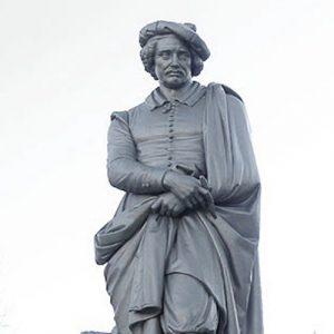 Rembrandt Statue Square Amsterdam