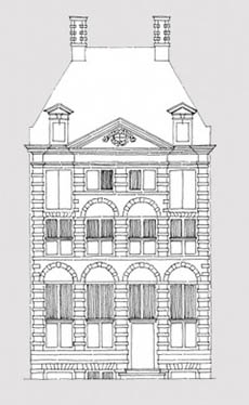 tekening_voorkant_huis_grijs