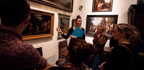 Rondleidingen in het Rembrandthuis Amsterdam