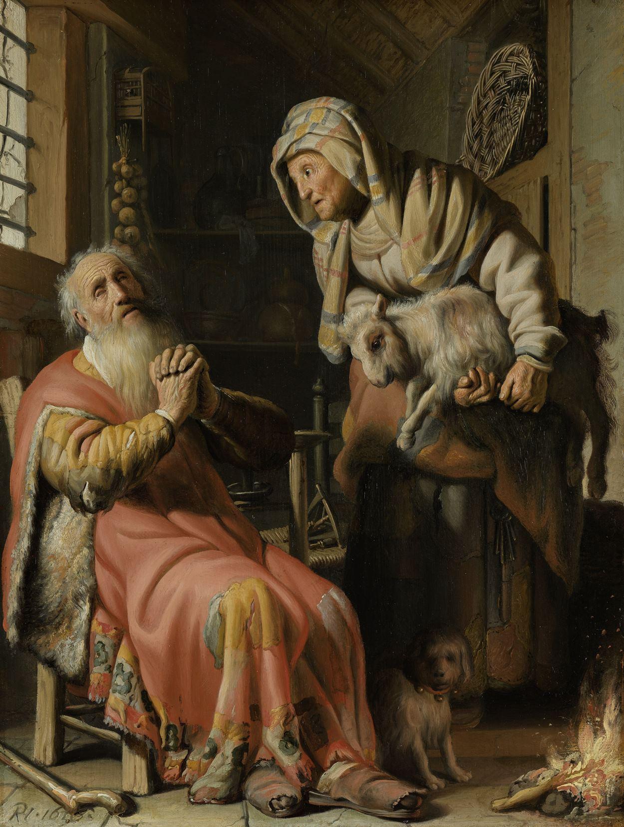 Afbeeldingsresultaat voor rembrandt de rechtvaardige