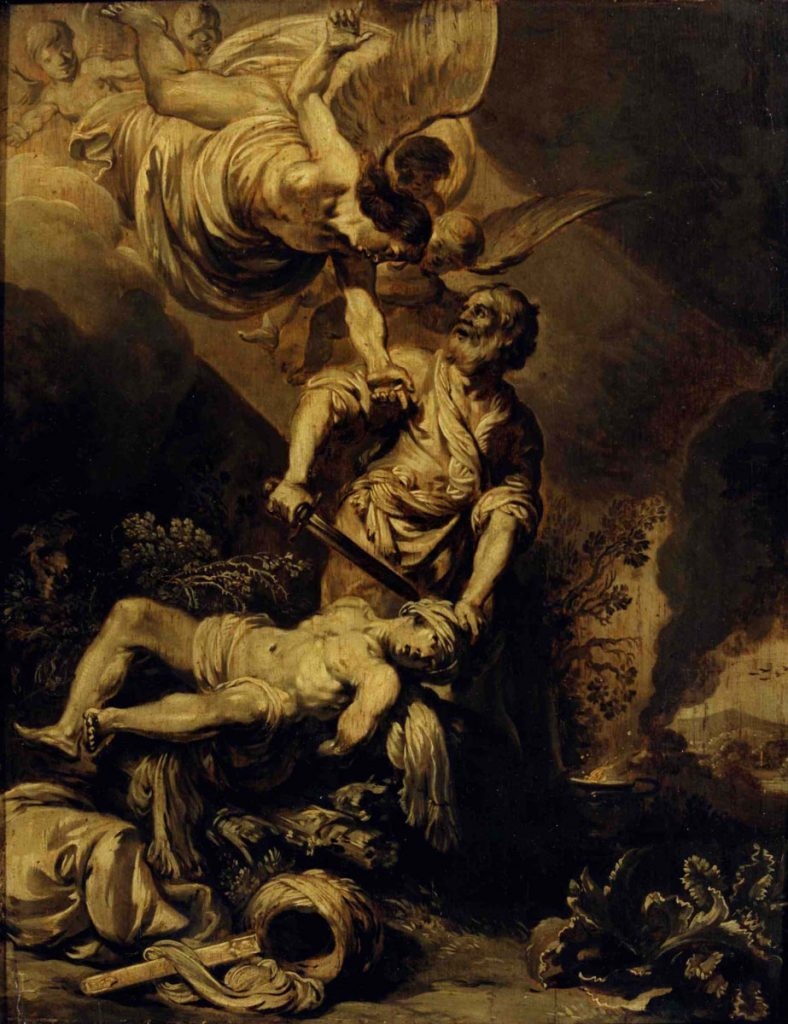Pieter Lastman, The Sacrifice of Abraham, c. 1612. The Rembrandt House Museum, Amsterdam (On loan from Instituut Collectie Nederland).