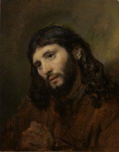 Hoofd van Christus - Rembrandt - Museum Het Rembrandthuis