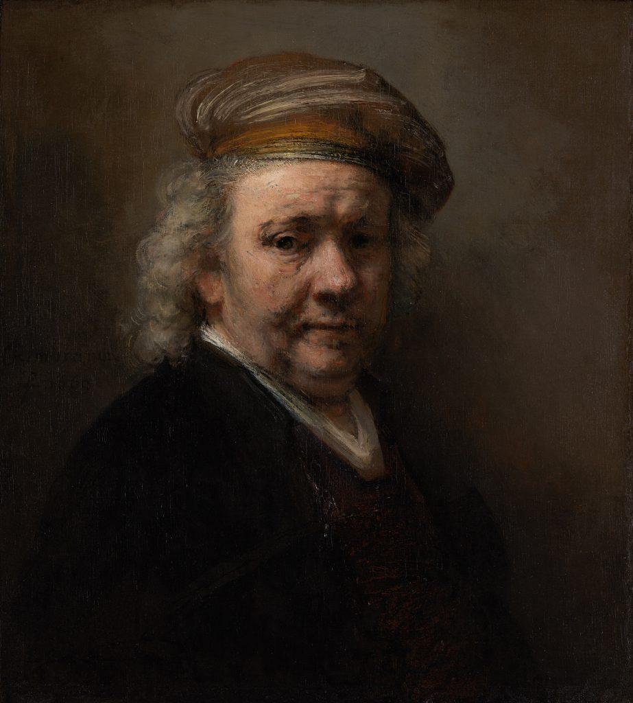 Rembrandt, Zelfportret, 1669. Mauritshuis, Den Haag.