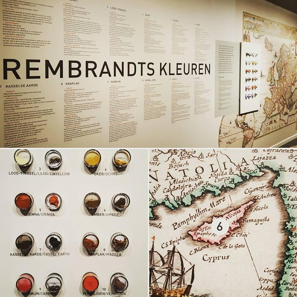 Rembrandts pigmenten. Museum Het Rembrandthuis Amsterdam
