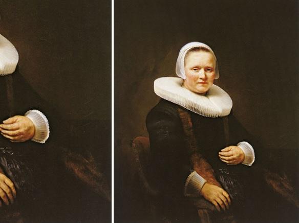 Rembrandt, Portret van Anna Wymer, 1641 (Collectie Six, Amsterdam)