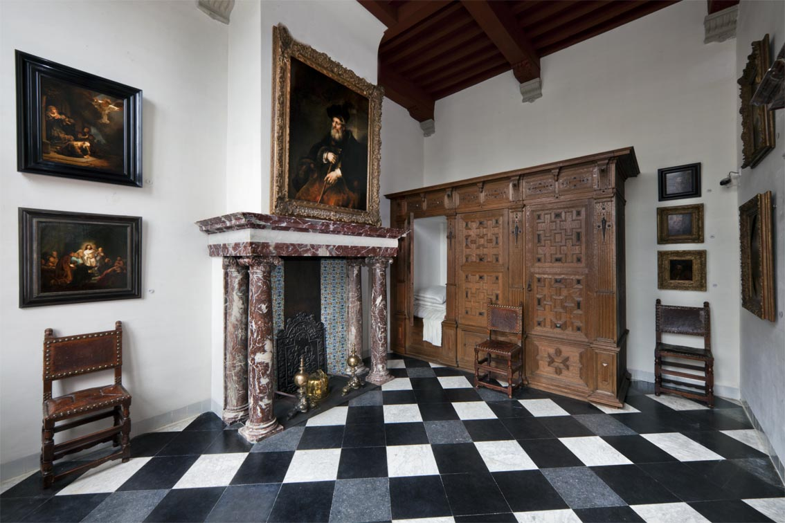 Sydelkamer Rembrandts Rooms Museum Rembrandthuis Amsterdam
