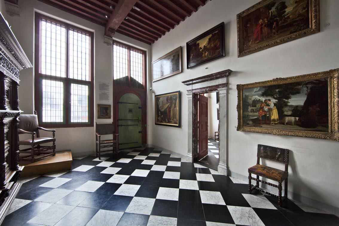 Rembrandts Rooms Voorhuys Entrance Hall