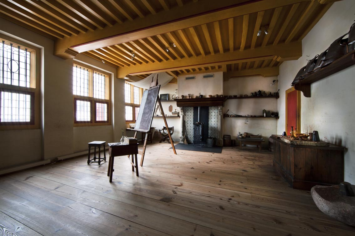 Rembrandt's Rooms:  The Large Studio