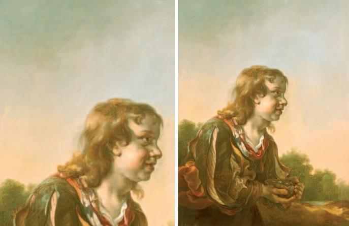 Jan van Noordt, Jongen met een vogelnest, ca. 1659 (Museum Het Rembrandthuis, Amsterdam).