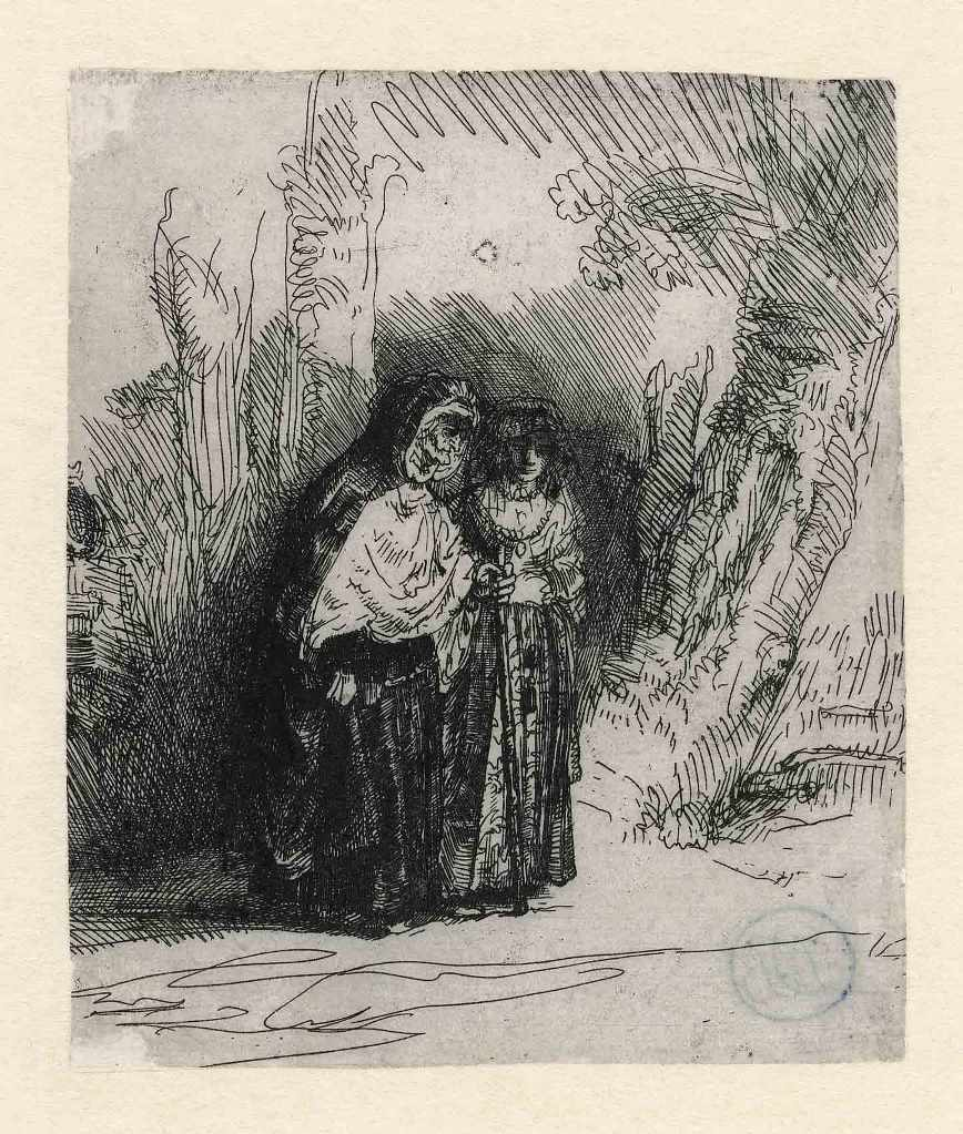 Rembrandt, Preciosa and Majombe, c. 1642 The Rembrandt House Museum Amsterdam
